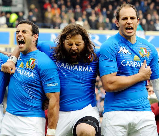 rugby Canale-Castrogiovanni-Parisse