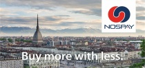 A Torino: compri per 100, spendi 80 con Nospay